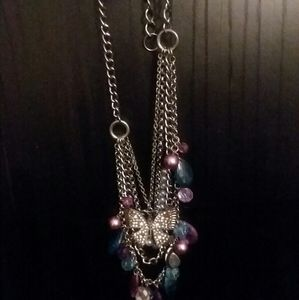 Jewelry - Layered butterfly necklaces